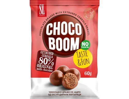 Чоко Бум чоколадно драже со јадро од екструдирана житарица 60г